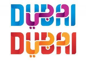 dubai arabic logo