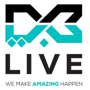 dxb live logo english arabic